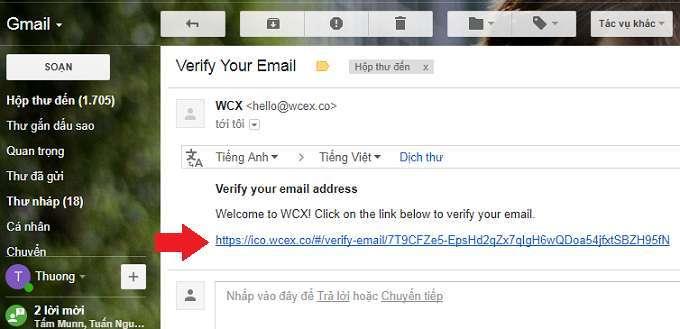 Đồng tiền ảo WCX đăng ký và giới thiệu để nhận ngay 100 XT (6USD) 3