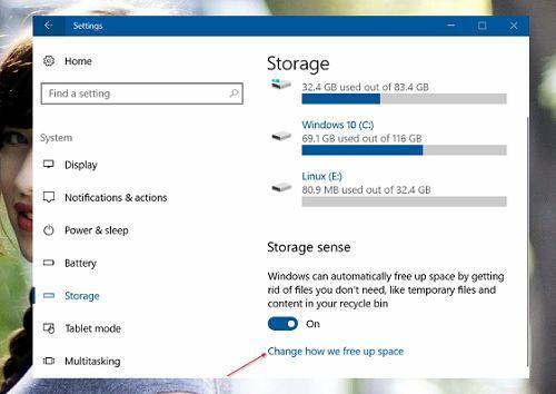 Cách tự động giải phóng không gian đĩa cứng trên Windows 10 3