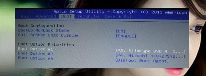 Hướng dẫn cấu hình truy cập chế độ boot từ máy tính 2