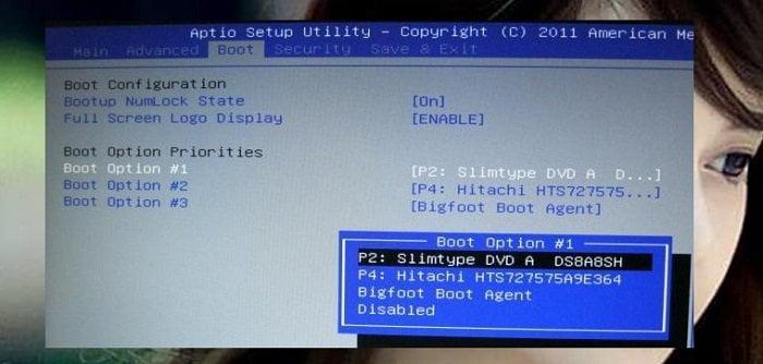 Hướng dẫn cấu hình truy cập chế độ boot từ máy tính 3