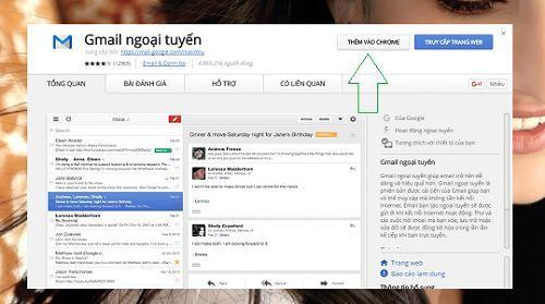Sử dụng Gmail khi không có kết nối Internet