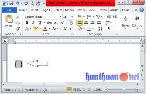 viết phân số trong Microsoft Word đơn giản nhất