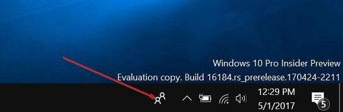 Cách vô hiệu tính năng My People từ Windows 10 Taskbar 5