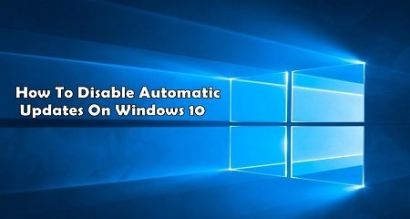 Vô hiệu hóa tự động cập nhật (windows update)