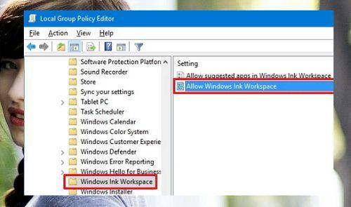 vô hiệu hóa Windows Ink trong Windows 10 đơn giản