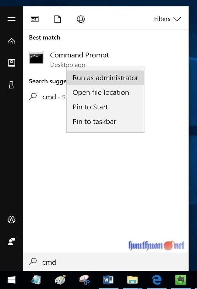Cách xóa tập tin Hiberfil.sys (Hibernation) trong Windows 10 4