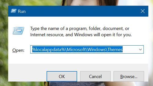 xóa giao diện (theme) không sử dụng trong Windows 10