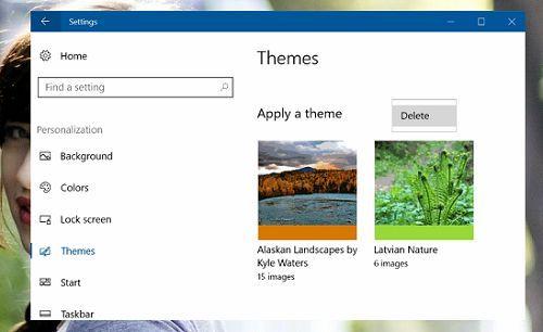 Cách xóa giao diện (theme) không sử dụng trong Windows 10 5