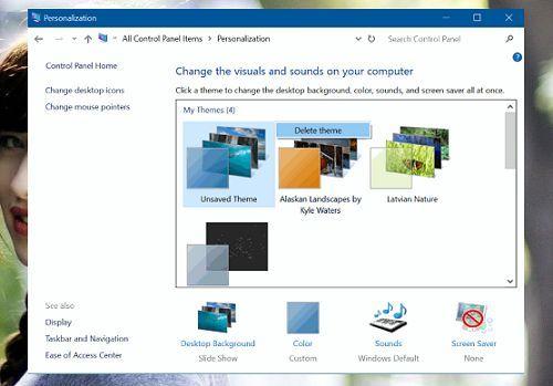Cách xóa giao diện (theme) không sử dụng trong Windows 10 4