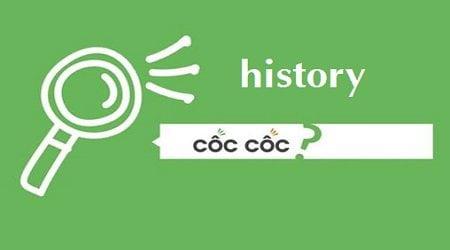 xoa lich su history coccoc