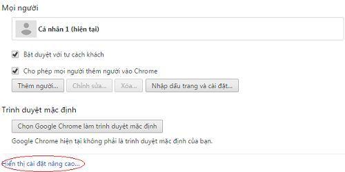 Cách xóa username và password đã lưu trên google chrome 3