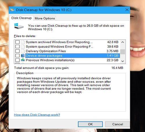 xóa trình điều khiển không sử dụng trong Windows 10